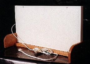 ENERJOY Underdesk Heater In Optional Stand